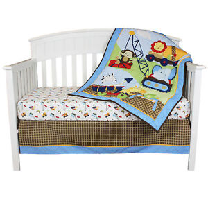 Image Is Loading Riegel Baby Under Construction Collection 3 Piece Crib