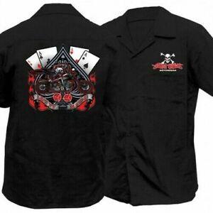 Lethal Threat Taste My Venom T-Shirt Motorcycle Street Bike