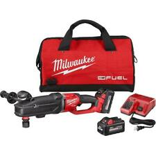 Milwaukee 2811 22 M18 Fuel 18v Super Hawg Right Angle Drill Quik Lok Kit