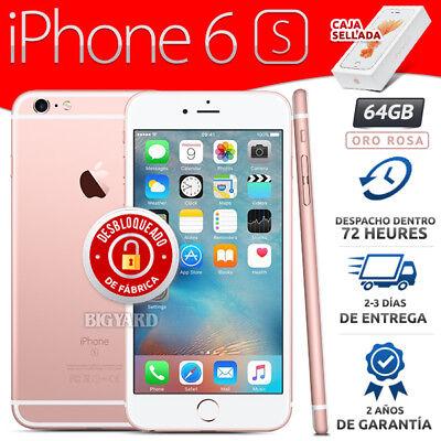 Nuevo APPLE iPhone 6S 64GB Oro Rosa Desbloqueado de Fábrica 4G Celular