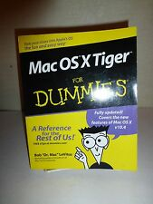 Mac OSX Tiger for Dummies® by Bob LeVitus (2005, Paperback)141