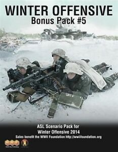 Asl Advanced équipe Leader Bonus Pack 5 Winter Offensive 2014, Scénario De Pack
