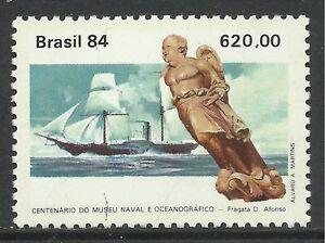 2062 Brasilien 1984 Postfrisch Marine Museum Andenken Sg