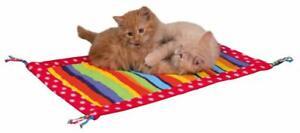 Cat-Kitten-Brightly-Coloured-Fleece-Canvas-Play-Mat-Cats-Kittens-55-x-37-cm