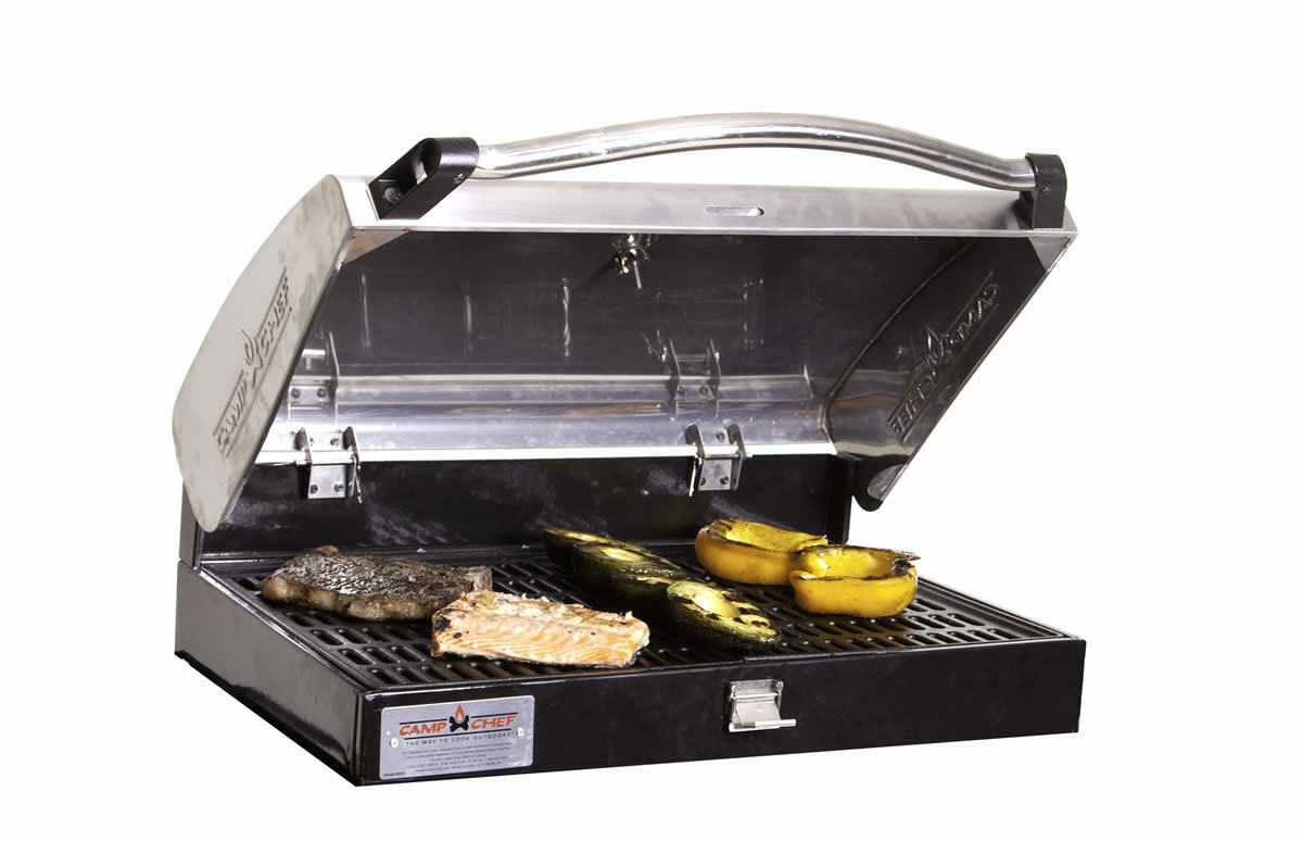 Camp Chef Stainless Steel Barbecue Grill Box 3  Burner Stoves  discount sales