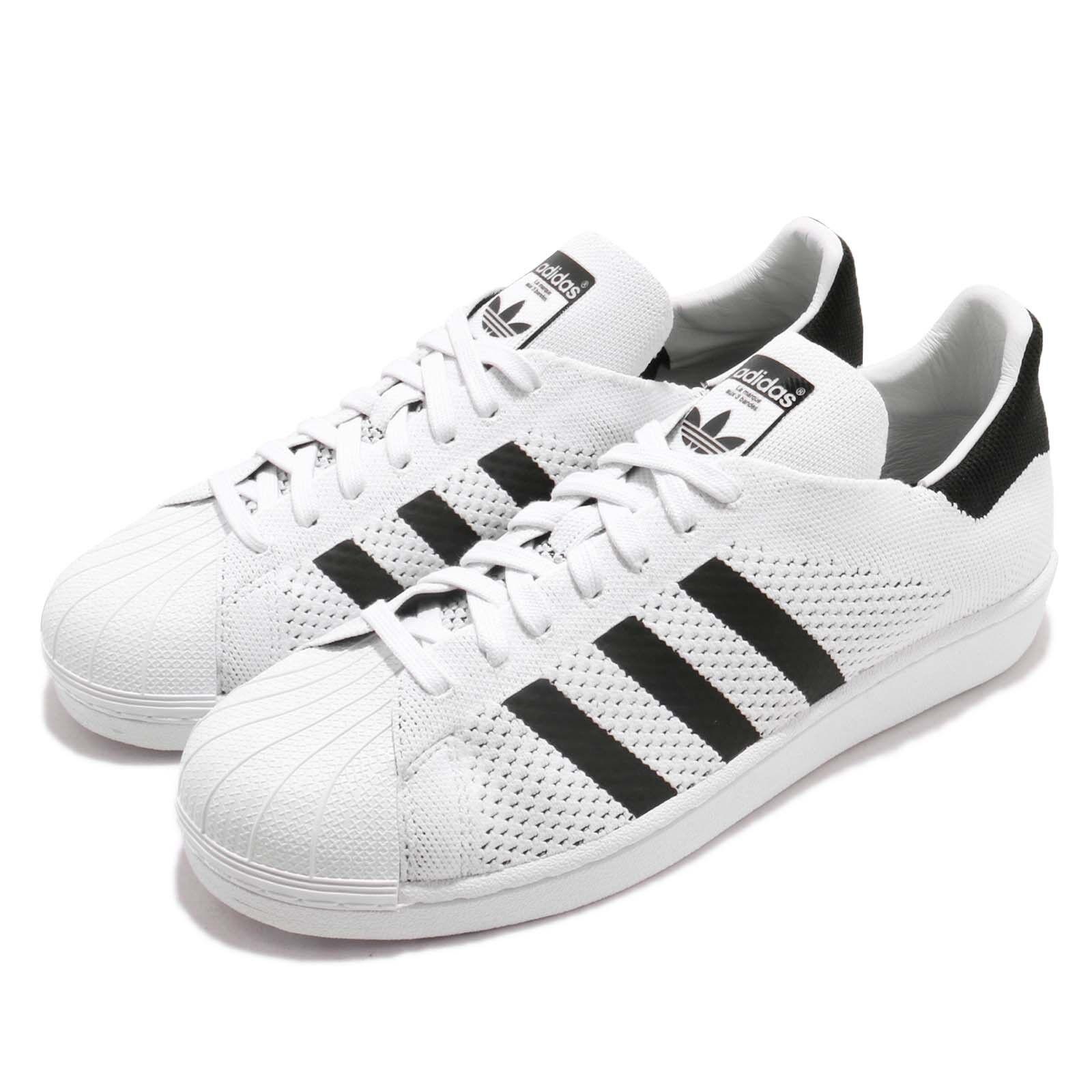 Adidas Originals Superstar PK PrimeKnit blanco negro Men Casual zapatos BY8704