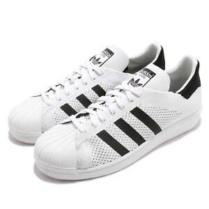 release date a23b1 9909c Image is loading adidas-Originals-Superstar-PK-PrimeKnit-White-Black-Men-