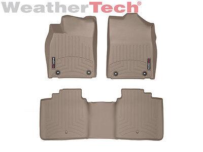 WeatherTech 454763 FloorLiner, Rear, Tan