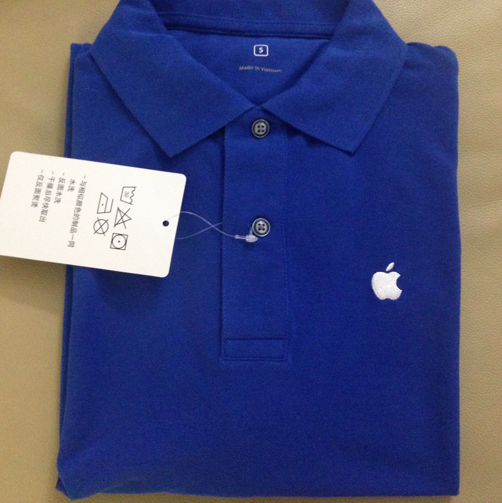 APPLE- Original Polo Shirt Gr:  S