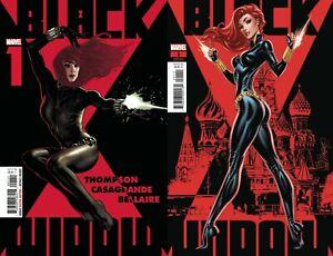 Marvel-Comics-Black-Widow-1-Adam-Hughes-Main-J-Scott-Campbell-Variant-NM-9-2-20