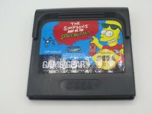 Simpsons: Bart vs. The Space Mutants (Sega Game Gear, 1992)