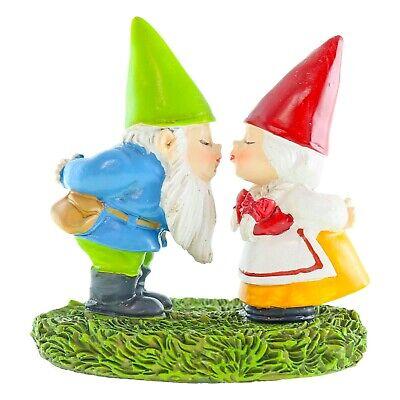 Miniature Dollhouse FAIRY GARDEN Accessories ~ Standing Girl Gnome ~ NEW