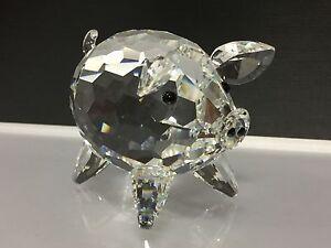 Swarovski-Figurine-Porc-Grand-7-5-Cm-en-Parfaite-Condition