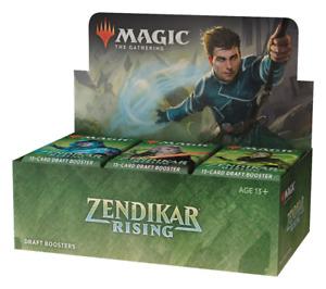 Zendikar Rising Draft Booster Box NEW FACTORY SEALED MTG PRESALE SHIPS 9/25!
