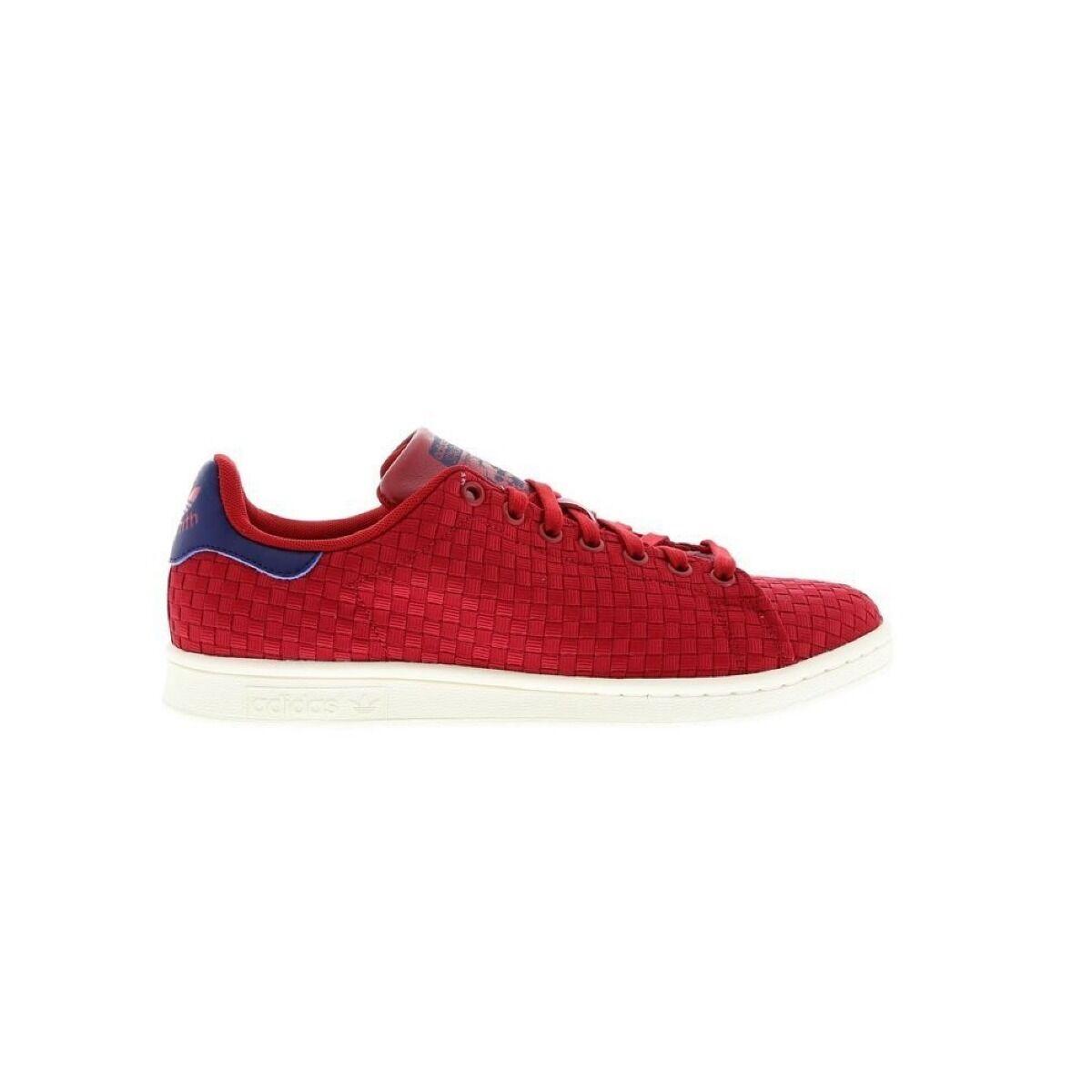 Adidas Stan Smith Zapatillas Hombre Rojo Azules Talla