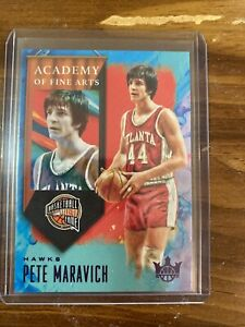 2019-20-NBA-PANINI-COURT-KINGS-ACADEMY-OF-FINE-ARTS-Pete-Maravich-99-Hawks