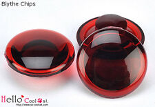☆╮Cool Cat╭☆【AM-37】(III) Abacus Button Blythe Acrylic Chips Red Series # Scarlet
