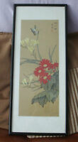 Chinese Watercolour Paintings Butterfly & Floral Paintings