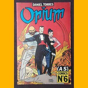 AS-COMICS-N-6-Opium-Daniel-Torres-1989