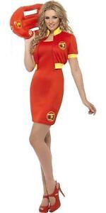 Dress//Shorts Lifeguard Womens Fancy Dress Halloween Baywatch