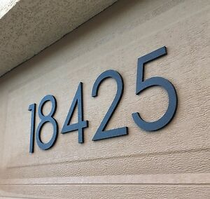 4 Inch Magnetic Modern House Numbers For Doors Mailboxes