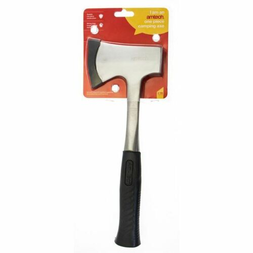 One Piece Camping Hiking Axe Hatchet Survival Hunting Wood Firewood Log Splitter
