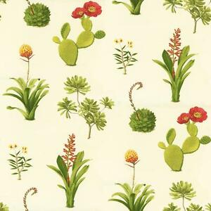 Wallpaper-Designer-Cactus-Prickly-Pear-Blossom-and-Desert-Succulents-on-Cream