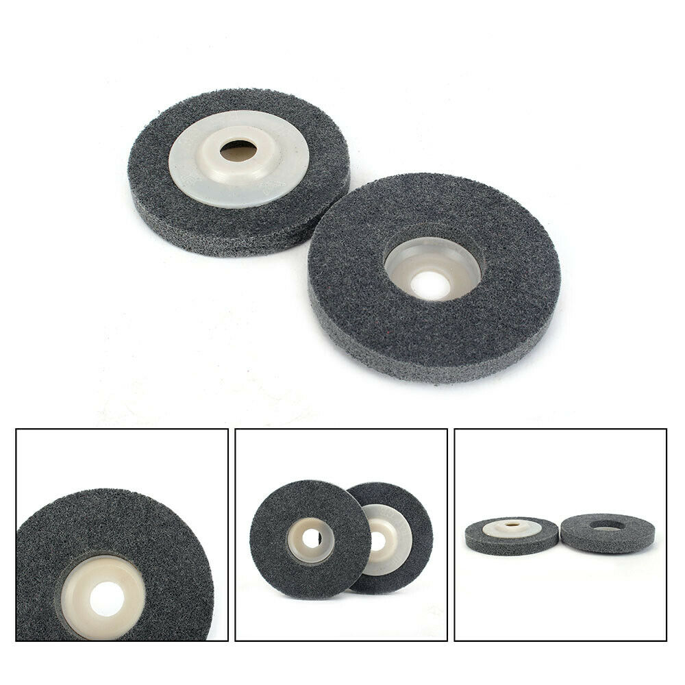 """5Pcs//10Pcs//20Pcs 4/""""Nylon Plastic Polishing Wheel Nonwoven Abrasive Grinding Disc"""