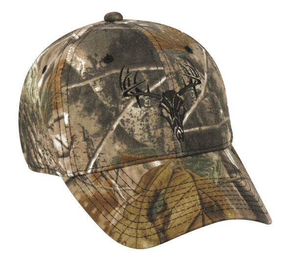 Realtree Xtra Camo w/Deer Skull Camouflage Hunting Hat