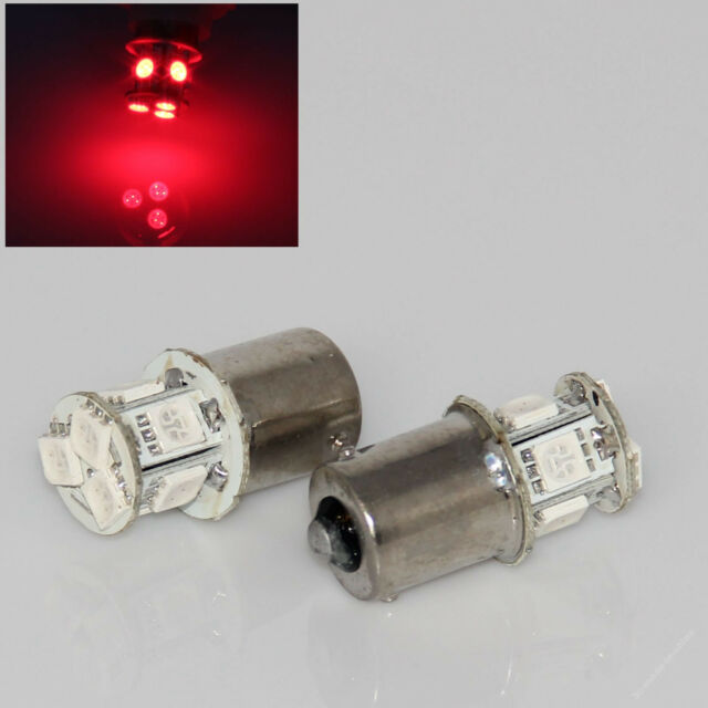 Red 1156 P21W Ba15s 8 5050 SMD LED Brake Tail Turn Signal Rear Light Bulb Lamp