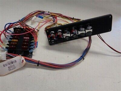 Crownline Black Switch Panel W Fuse Block 10 X 2 3 4 Marine Boat Ebay
