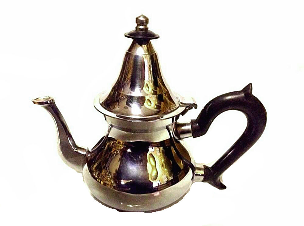 Moroccan serving tea teapot stainless steel morocco mint - Cup stainless steel teapot ...
