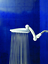 """Shower Head High Pressure Rainfall 9.5"""" with Adjustable Extension Arm /& 109 Jets"""