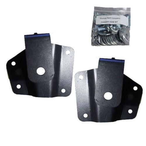 """Chevy Lowering Kit 2/"""" Rear Axle Drop Hangers 1999-2006 GMC 1500 Pickup Truck"""