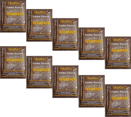 ga enzima alcohol gärhefe levadura brennhefe gratis 10 x turbohefe Alcotec whisky