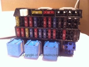 details about nissan serena vanette e ldv cub relay and fuse box 24330c9960 2 3d 1995 2001 Super Duty Fuse Box