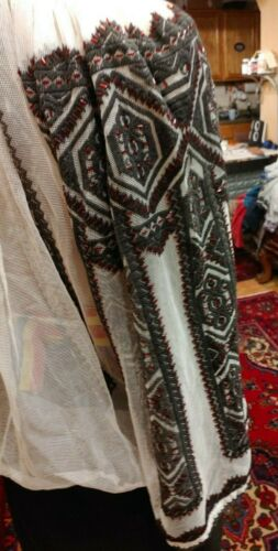 Romanian traditional blouse, hand embroidered, siz