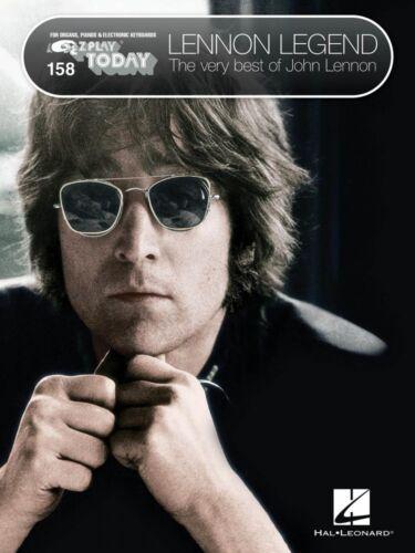 Lennon Legend The Very Best of John Lennon Sheet Music E-Z Play NEW 000101769