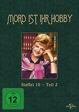 MORD IST IHR HOBBY-STAFFEL 10-TEIL 2 -ANGELA LANSBURY,WILLIAM WINDOM- 3 DVD NEU