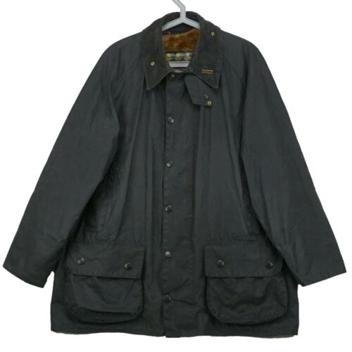 Men's Vintage Waxed Barbour Beaufort Jacket + Warm