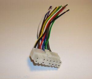nesa indash dvd 16 pin wire harness nsd 708 741n 741b 360. Black Bedroom Furniture Sets. Home Design Ideas