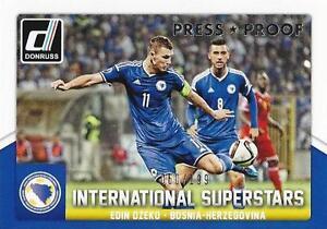 Claudio pizzaro 2015 Donruss International superestrellas bronce,//299 press Proof