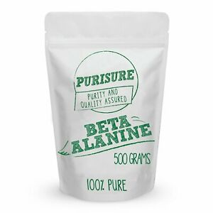 Purisure-Beta-Alanine-Powder-Pure-Bulk-Pre-Workout-Nutrition-for-Endurance-500g