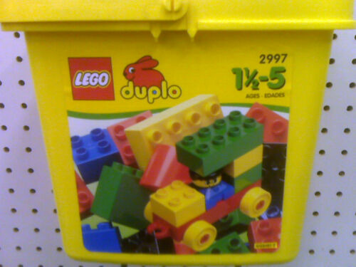 LEGO DUPLO MADE IN 1999 -PRESCHOOL BUILDING TOY 2997 40 PCS NEW SEALED