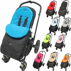 Footmuff Cosy Toes Compatible with Mountain Buugy Swift  Pushchair Black Jack