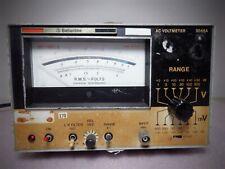 Ballantine Ac Voltmeter Model 3046a