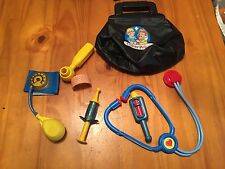 Fisher-Price Medical Kit Playset Kids Pretend Doctor Nurse Toy GUC