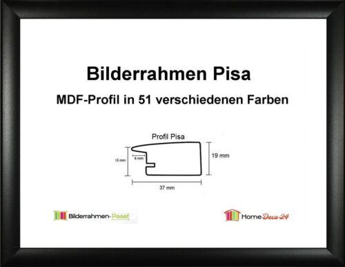 Pisa MDF-Bilderrahmen Standard II von 45 x 90 bis 45 x 99 cm