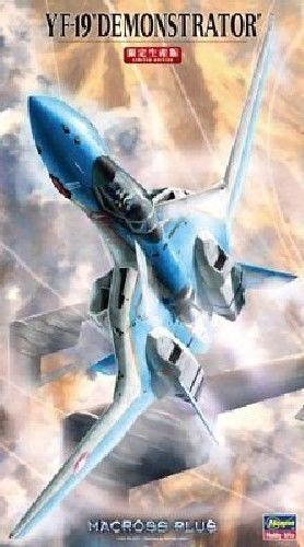 Hasegawa 1 72 Macross YF-19 DEMONSTRATOR Fighter Model Kit NEW from Japan
