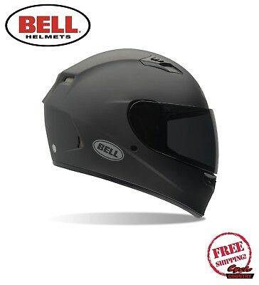 Bell Qualifier Unisex-Adult Full Face Street Helmet D.O.T.-Certified Solid Black, Small